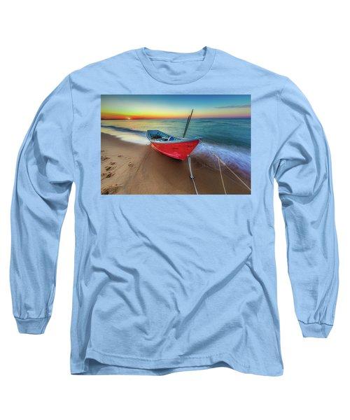 Sunset Skiff Long Sleeve T-Shirt