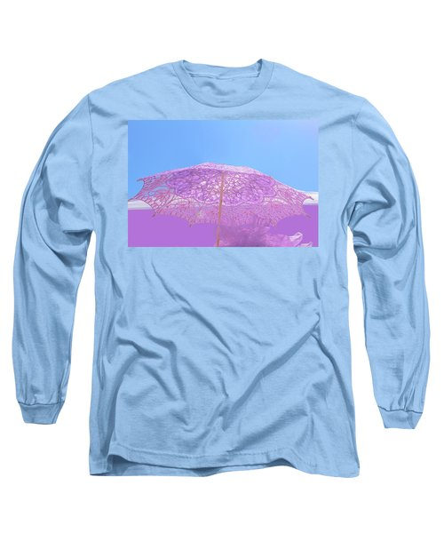 Sunshade In Pastel Color Long Sleeve T-Shirt