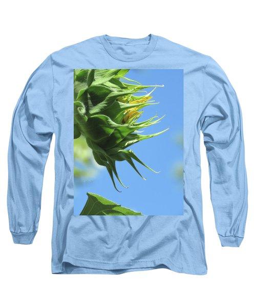 Sunshine In The Garden 15 Long Sleeve T-Shirt by Brooks Garten Hauschild