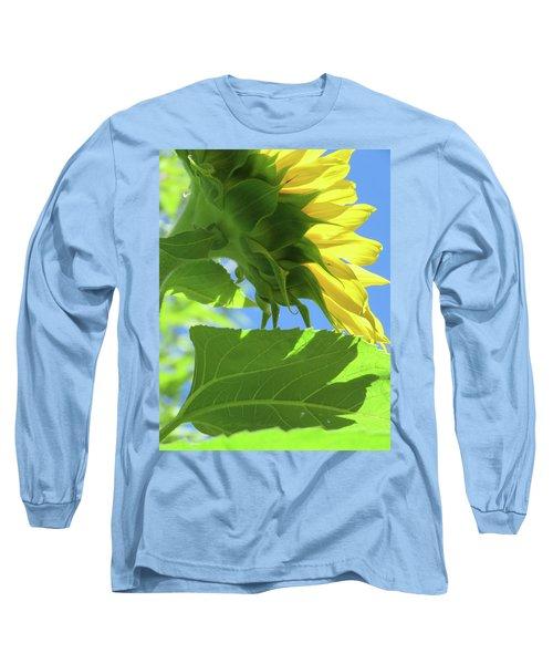 Sunshine In The Garden 19  Long Sleeve T-Shirt by Brooks Garten Hauschild