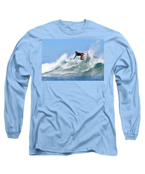 Surfer Girl At Bowls 5 Long Sleeve T-Shirt