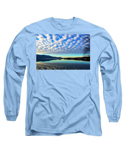 Surreal Sunrise Long Sleeve T-Shirt by The American Shutterbug Society