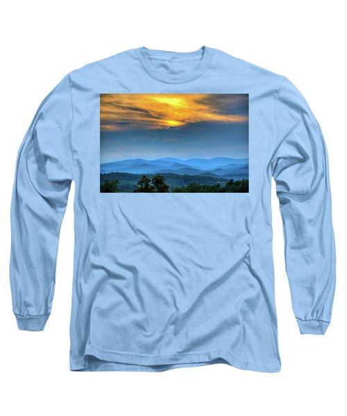 Surrender The Day Long Sleeve T-Shirt by Dale R Carlson