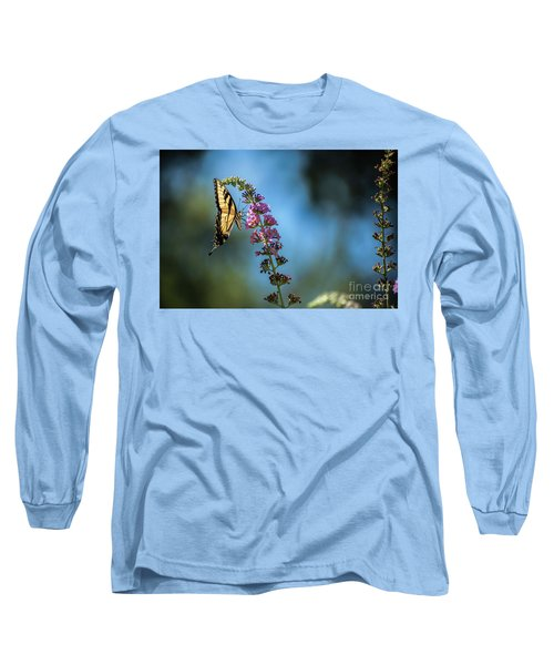 Swallowtail Lookout Long Sleeve T-Shirt by Judy Wolinsky