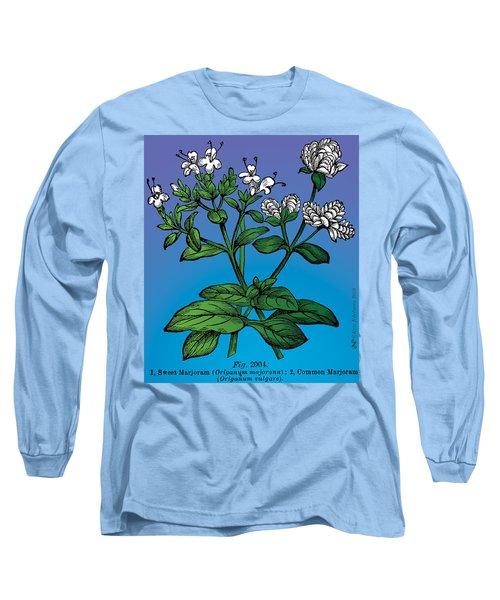 Sweet Marjoram Long Sleeve T-Shirt