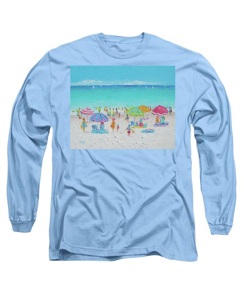Sweet Sweet Summer Long Sleeve T-Shirt by Jan Matson