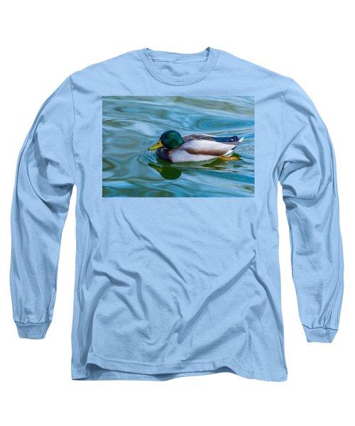 Swimming Duck Long Sleeve T-Shirt