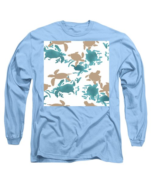 Swimming Turtles Long Sleeve T-Shirt