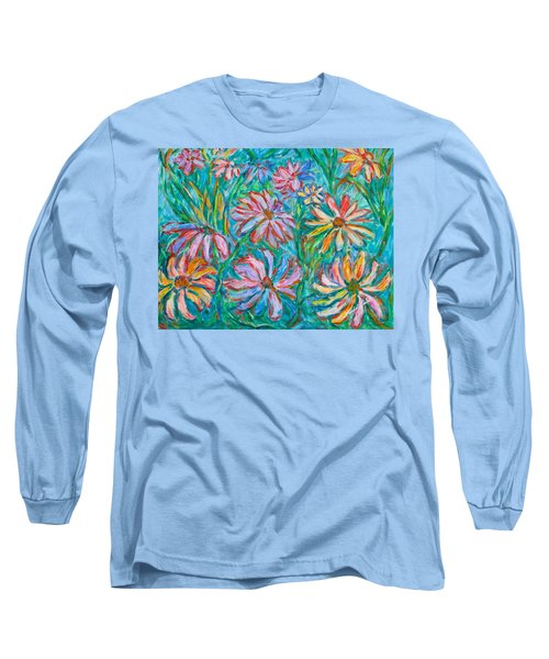 Swirling Color Long Sleeve T-Shirt
