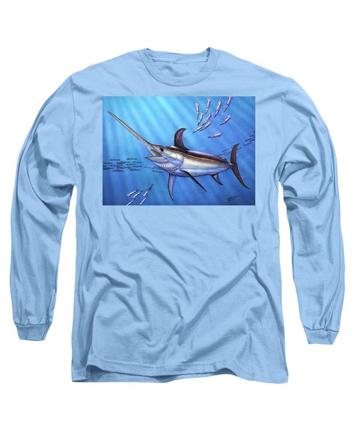 Swordfish In Freedom Long Sleeve T-Shirt