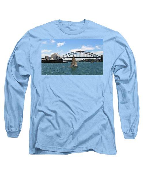 Sydney Harbour No. 1 Long Sleeve T-Shirt