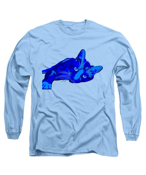 Sylvia Blue Long Sleeve T-Shirt