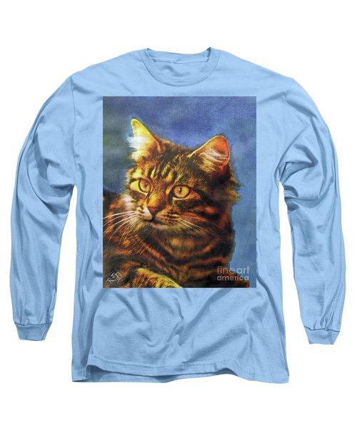 Tabby Blue Long Sleeve T-Shirt