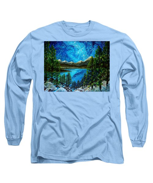 Tahoe A Long Time Ago Long Sleeve T-Shirt by Matt Konar