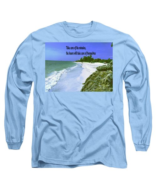 Long Sleeve T-Shirt featuring the photograph Take Care Of The Minutes by Gary Wonning