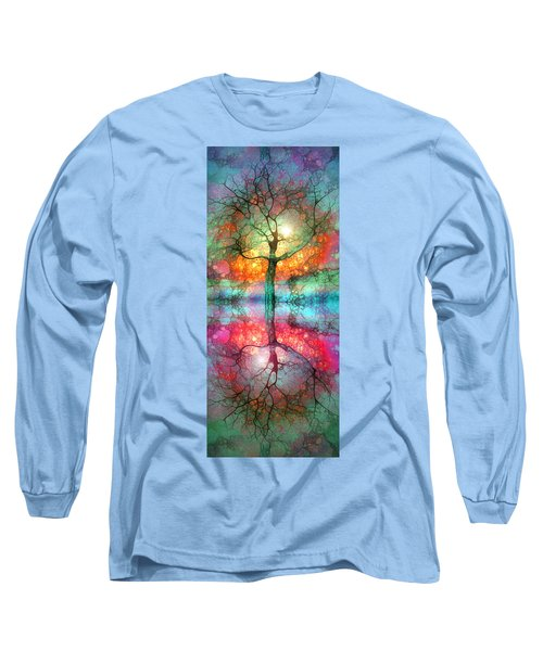 Long Sleeve T-Shirt featuring the digital art Take The Light This Life Has To Offer by Tara Turner