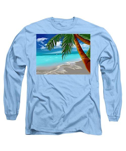 Takemeaway Beach Long Sleeve T-Shirt