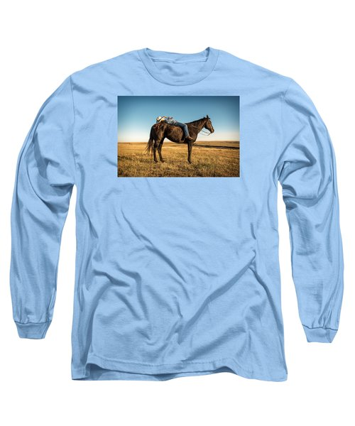 Taking A Snooze Long Sleeve T-Shirt by Todd Klassy