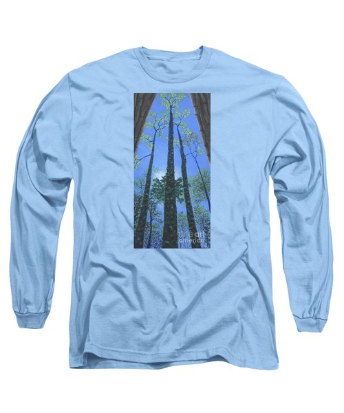 Tall Blue Ridge Beauty Long Sleeve T-Shirt by Anne Marie Brown