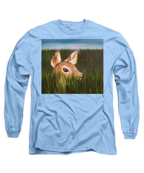 Tall Grass    #63 Long Sleeve T-Shirt