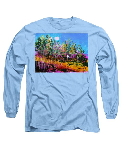 Tall Left And Front Long Sleeve T-Shirt by John Williams