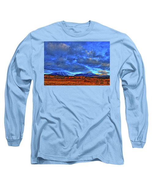 Long Sleeve T-Shirt featuring the photograph Ten Mile Of Fall Colors by Scott Mahon
