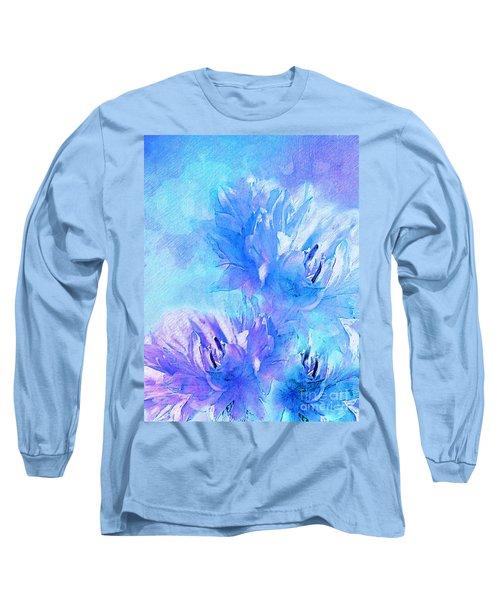 Long Sleeve T-Shirt featuring the digital art Tenderness by Klara Acel