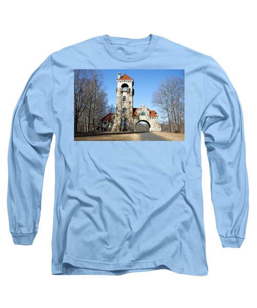 Long Sleeve T-Shirt featuring the photograph Testimonial Gateway Tower #1 by Jeff Severson