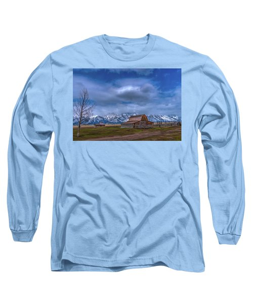Teton National Park Mormon Row Long Sleeve T-Shirt