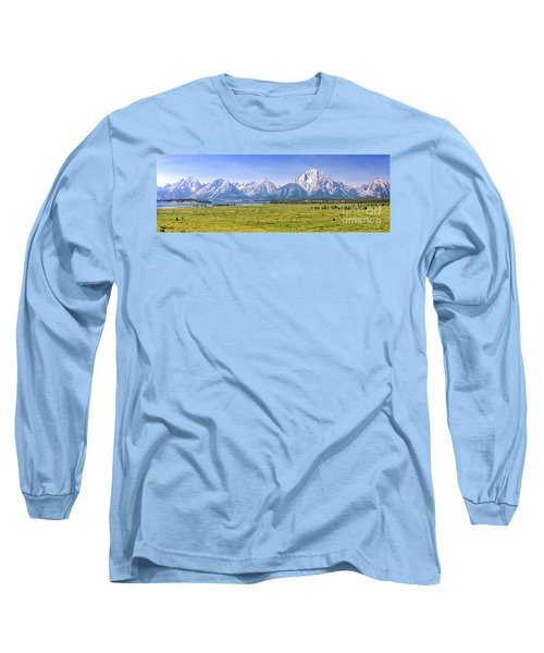 Teton Panorama Long Sleeve T-Shirt