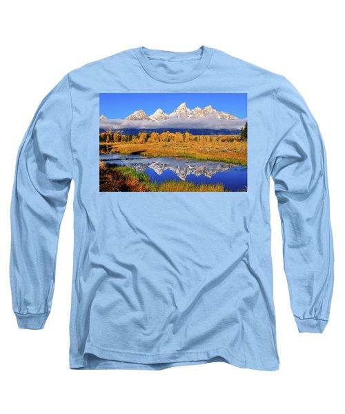 Teton Peaks Reflections Long Sleeve T-Shirt