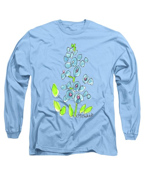 Texas Bluebonnet Long Sleeve T-Shirt