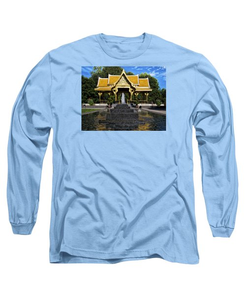 Thai Pavilion - Madison - Wisconsin Long Sleeve T-Shirt by Steven Ralser
