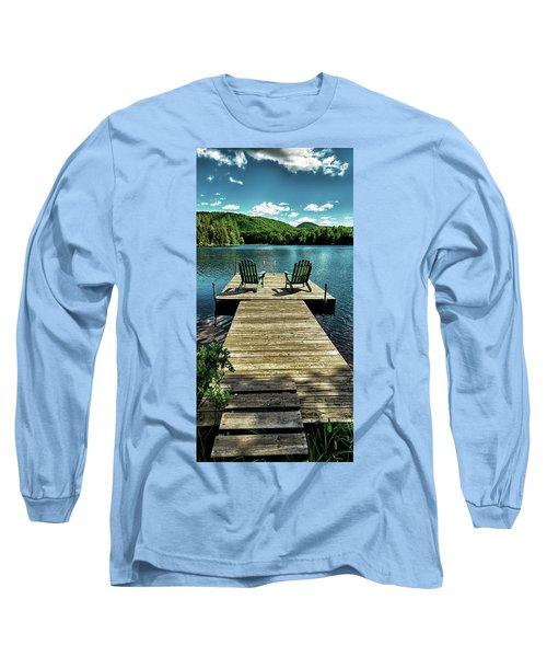 The Adirondacks Long Sleeve T-Shirt