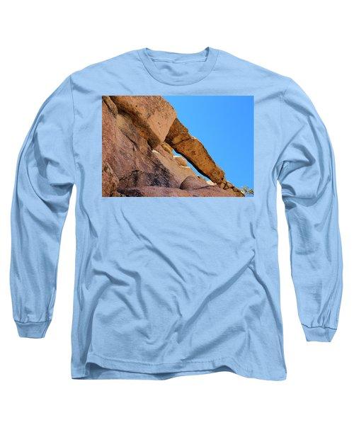 The Arch In Joshua Tree Np Long Sleeve T-Shirt by Viktor Savchenko