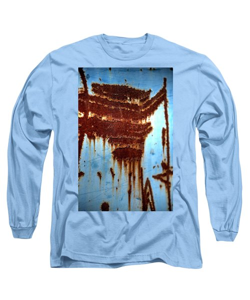The Art Of Rust Long Sleeve T-Shirt by Jerry Sodorff