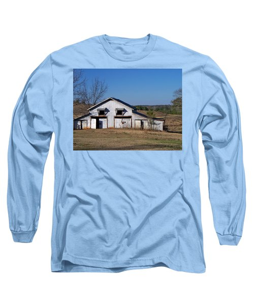 Long Sleeve T-Shirt featuring the photograph The Barn by Betty Northcutt