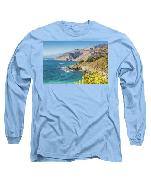 The Beauty Of Big Sur Long Sleeve T-Shirt by JR Photography