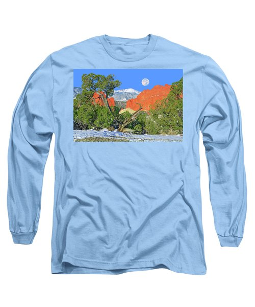 The Beauty That Takes Your Breath Away And Leaves You Speechless. That's Colorado.  Long Sleeve T-Shirt