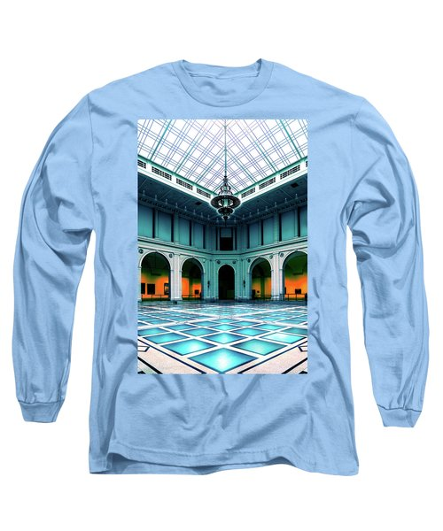 Long Sleeve T-Shirt featuring the photograph The Beaux-arts Court by Chris Lord