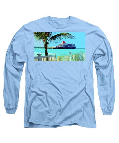 The Bimini Boat Long Sleeve T-Shirt