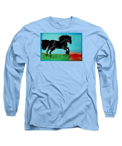 The Black Stallion Long Sleeve T-Shirt