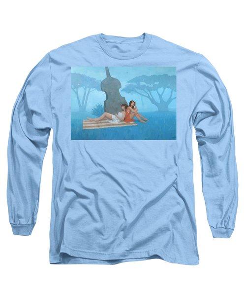 The Blue Garden Long Sleeve T-Shirt