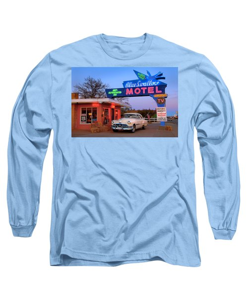 The Blue Swallow Long Sleeve T-Shirt