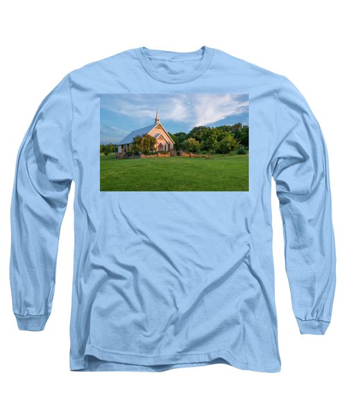 The Brooks At Weatherford Wedding Chapel Long Sleeve T-Shirt