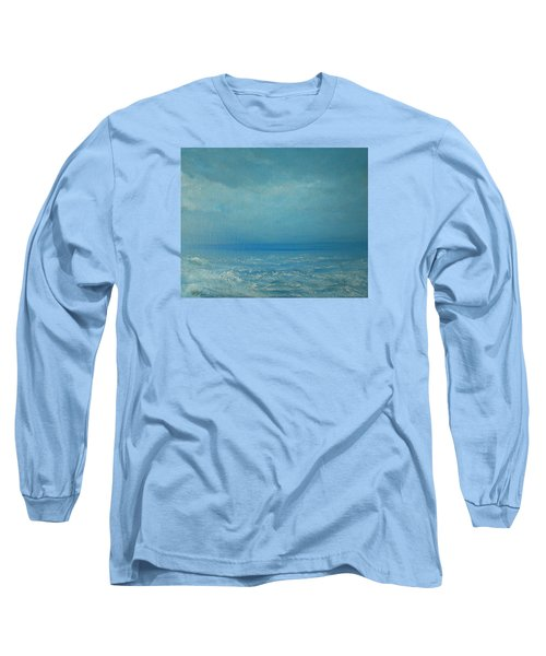 The Calm Before The Storm Long Sleeve T-Shirt by Jane See