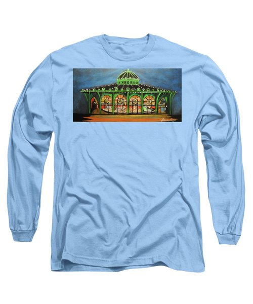 The Carousel Of Asbury Park Long Sleeve T-Shirt