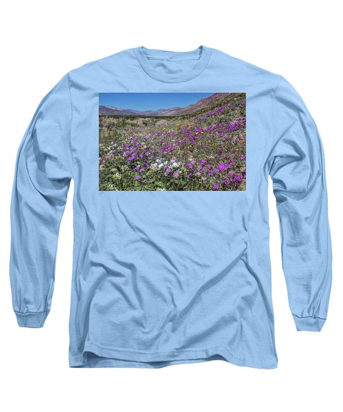 Long Sleeve T-Shirt featuring the photograph The Colors Of Spring Super Bloom 2017 by Peter Tellone