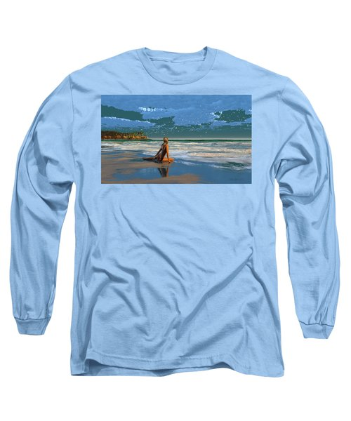 The Courtship Of Sand Long Sleeve T-Shirt
