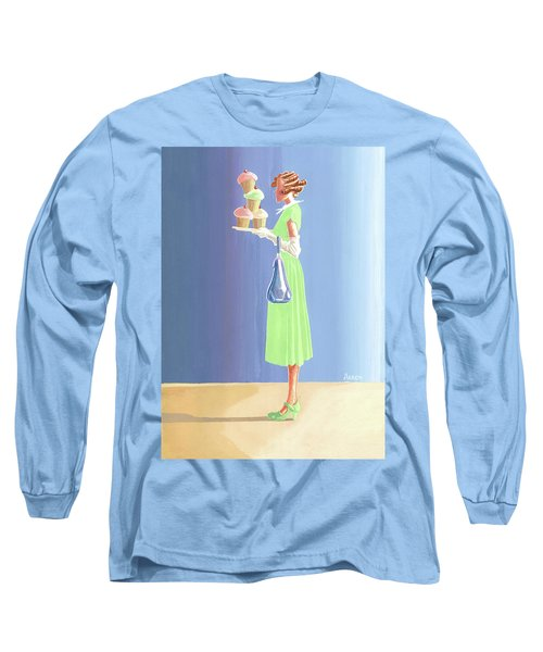The Cupcake Lady Long Sleeve T-Shirt